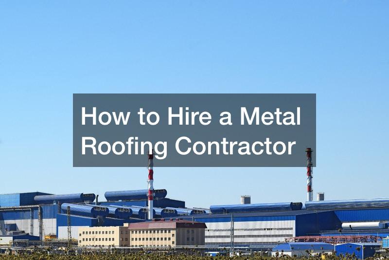 metal roof contractor